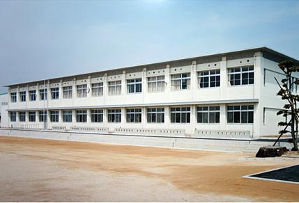 西岐波小学校 第3期校舎改築工事