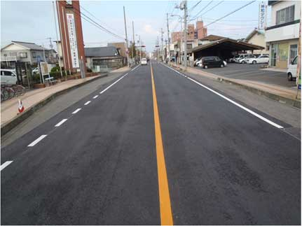 一般県道小野田港線 舗装補修(防災・安全交付金)地方道工事 第1工区