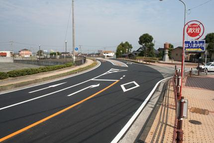 一般県道小野田港線舗装補修(防災・安全交付金)地方道工事