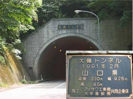 国道435号 大嶺トンネル