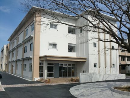 山口県立宇部高等学校管理棟新築工事