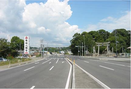 国道490号 道路改良(舗装)