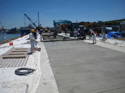 小野田港 港湾施設改良工事