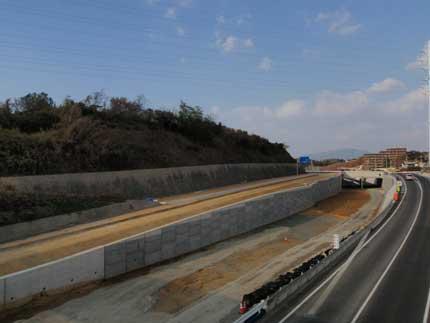 下関北バイパス武久地区第10改良工事 完成