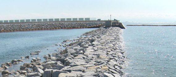 宇部港廃棄物埋立護岸築造工事 第1工区