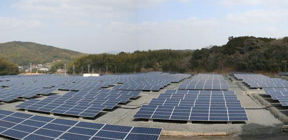 太陽光発電設備設置工事施工例