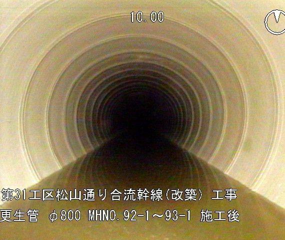 第31工区 松山通り合流幹線(改築)工事
