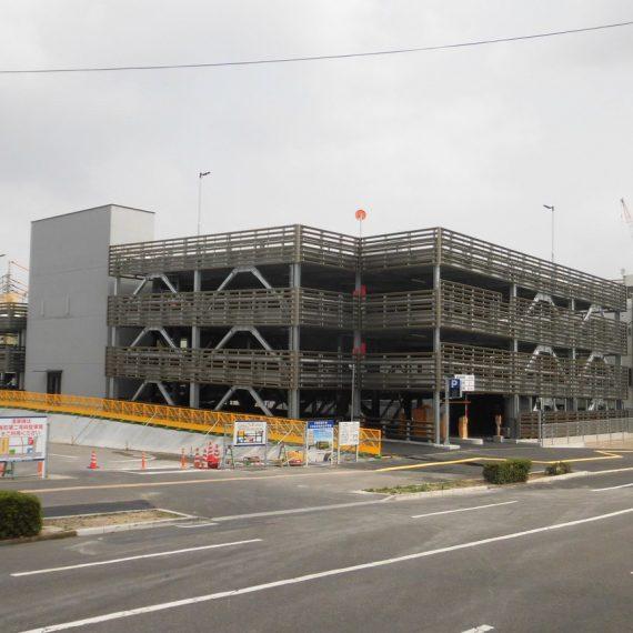 宇部市新庁舎立体駐車場新築工事