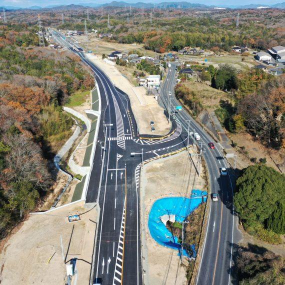 一般国道490号道路改良・補正(総合交付金・特・緊急対策)工事 第1工区
