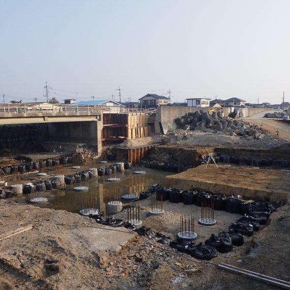 江頭川大規模特定河川工事 第2工区